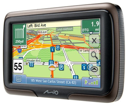 Mio Moov M400 and M300 GPS Navigation Devices