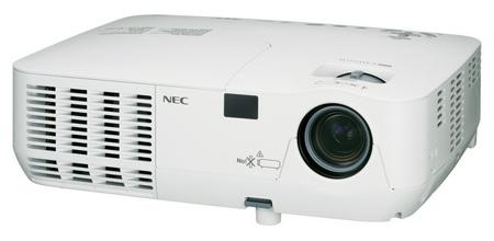NEC NP110 and NP215 DLP Projectors