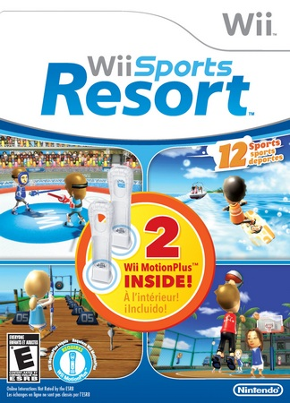 Nintendo Wii Sports Resort Limited Edition with two Wii MotionPlus