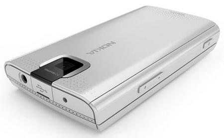 Nokia X3 Slider Phone back