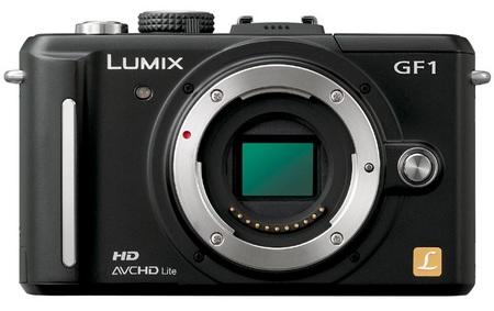 Panasonic Lumix DMC-GF1 compact DSLR no lens