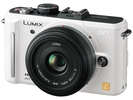 Panasonic Lumix DMC-GF1C-W compact DSLR