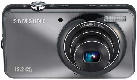 Samsung ST45 Slim Digital Camera grey