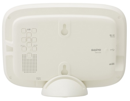 Sanyo ALBO HNV-S70 Home Network Viewer back
