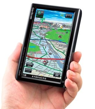 Sanyo Gorilla Lite NV-LB50DT Navigation Device with 1Seg