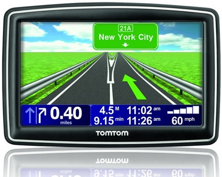TomTom XXL 530S and XXL 540S Portable Navigation Devices