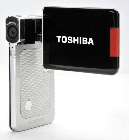 Toshiba Camileo S20 HD camcorder