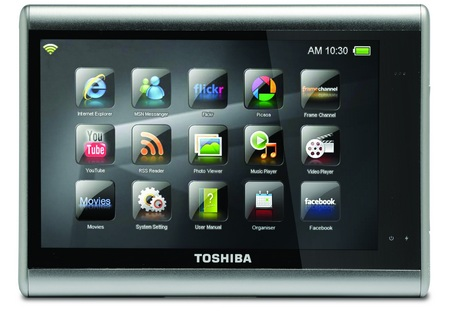 Toshiba JournE Touch Multimedia MID front