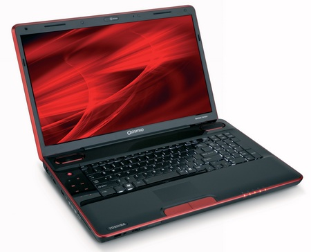 Toshiba Qosmio X500 Core i7 Multimedia Notebook