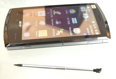 Acer neoTouch SnapDragon WM6.5 Smartphone live with stylus