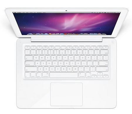Apple MacBook Unibody  top