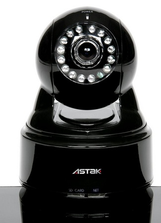 Astak Mole IP Camera with WiFi and YouTube, Twitter Integration