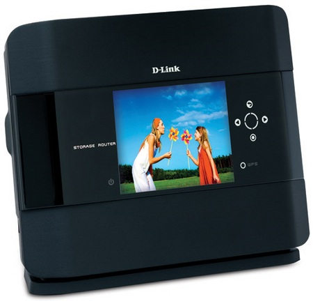 D-Link Xtreme N DIR-685 Router with built-in Photo Frame