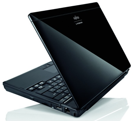 Fujitsu Lifebook P8110 Ultra portable Notebook back