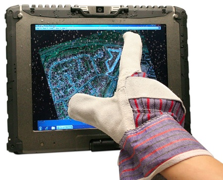 Getac V100 Tablet PC with Multitouch