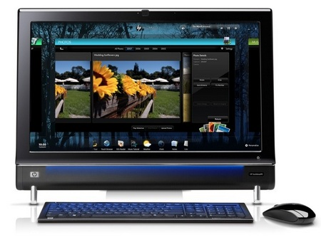 HP TouchSmart 600 multitouch PC