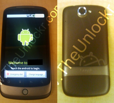 HTC Dragon Android Phone Leaked Shots