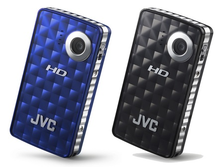 JVC PICSIO GC-FM1 Camcorder blue black