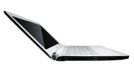 LG XNOTE T380-GR73K CULV Notebook with Windows 7 side 1