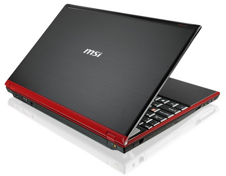 MSI GT640 Core i7 Gaming Notebook