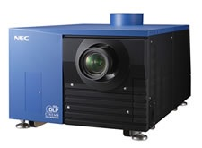 NEC NC1200C, NC2000C and NC3200S Digital Cinema Projectors