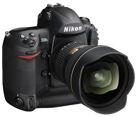 Nikon D3s DSLR Camera front angle