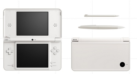 Nintendo DSi LL with 4.2-inch Display white