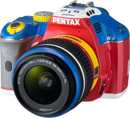 Pentax K-x Korejanai Limited Edition front angle