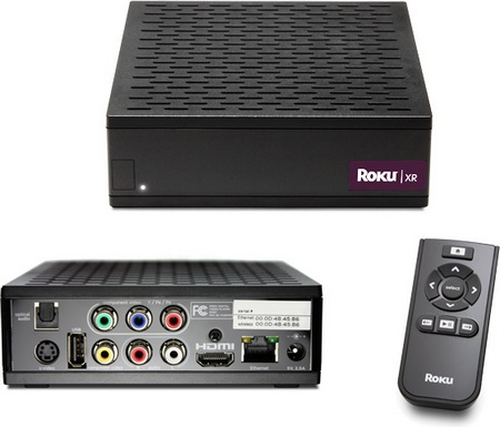 Roku SD, Roku HD and Roku HD-XR Netflix Streaming Players