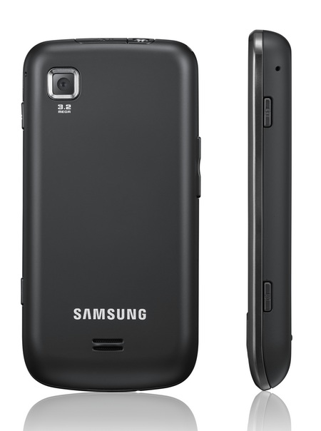 Samsung Galaxy Spica Android Phone black back