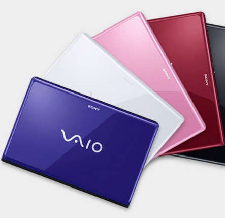 Sony VAIO CW Series Notebook colors