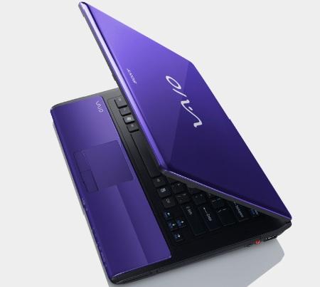 Sony VAIO CW Series Notebook purple 1