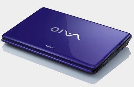Sony VAIO CW Series Notebook purple