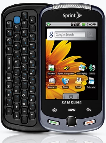 Sprint Samsung Moment Android Phone