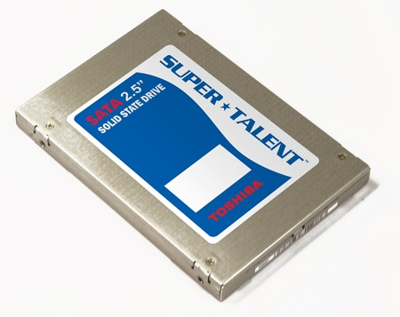 Super Talent UltraDrive DX Co-branded Toshiba SSDs