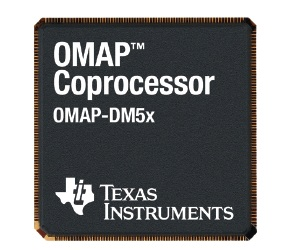Texas Instruments OMAP-DM5x coprocessors for Mobile Phones