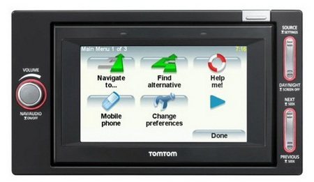 TomTom GO I-90 double DIN navigation and radio system