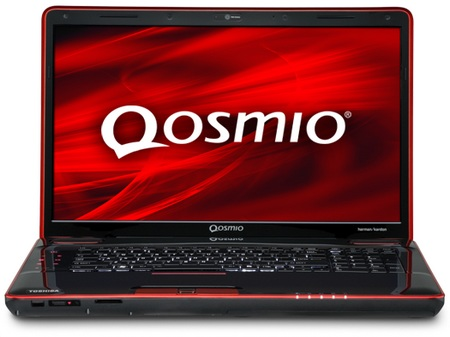 Toshiba Qosmio X500 Notebook