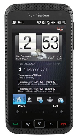 Verizon HTC Imagio wm6.5 phone