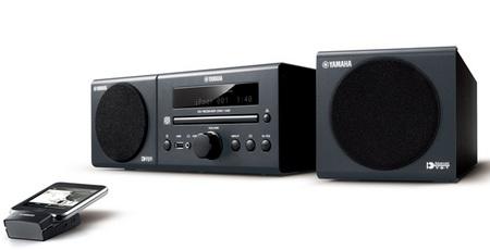 Yamaha MCR-140 iPod CD Audio System black