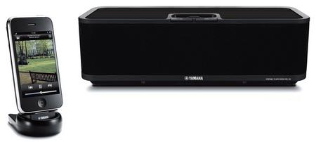 Yamaha PDX-60 Wireless iPhone iPod Audio System  black