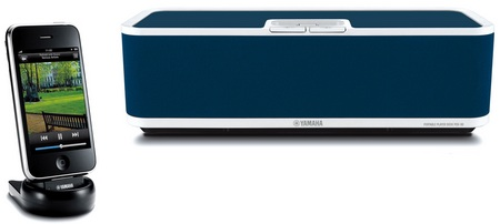 Yamaha PDX-60 Wireless iPhone iPod Audio System  blue