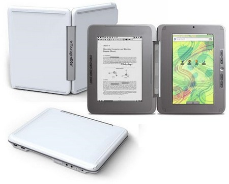 enTourage eDGe dualbook Glacier White