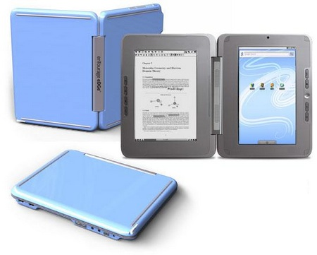 enTourage eDGe dualbook Ice Blue