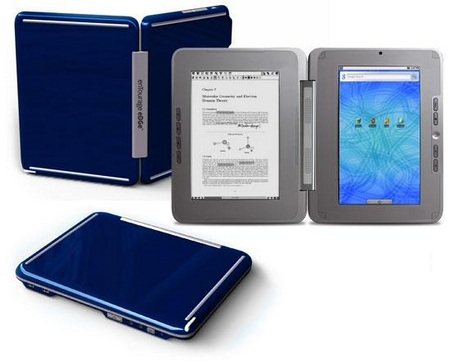 enTourage eDGe dualbook Midnight blue