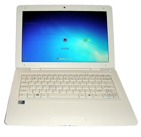 iiView A2 Slim Atom Netbook front