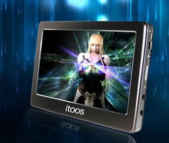 itoos M8 PMP does 1080p playback and 1080 output