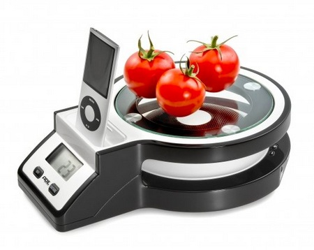 ADE Rihanna Kitchen Scale with iPod Dock