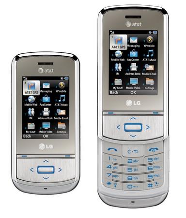 AT&T LG Shine II Slider