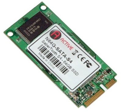 ActiveMP SaberTooth S4 Mini PCI-e SSD Upgrade for Eee PC